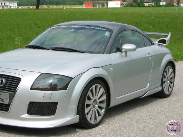 Schubert Tuning Rear Wing Audi Tt Coupe And Audi Tt